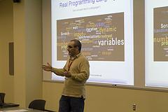 michael badger introduces scratch programming.